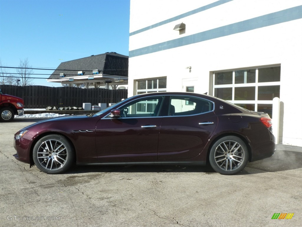 Rosso Folgore Dark Red 2014 Maserati Ghibli S Q4 Exterior Photo 89670288