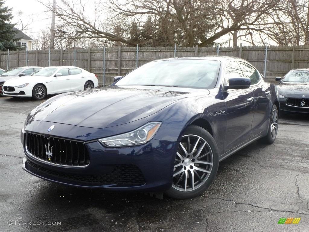 Blu Passione Blue 2014 Maserati Ghibli Standard Ghibli Model Exterior Photo 89671416