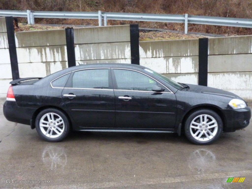 Black 2012 Chevrolet Impala Ltz Exterior Photo 89682297