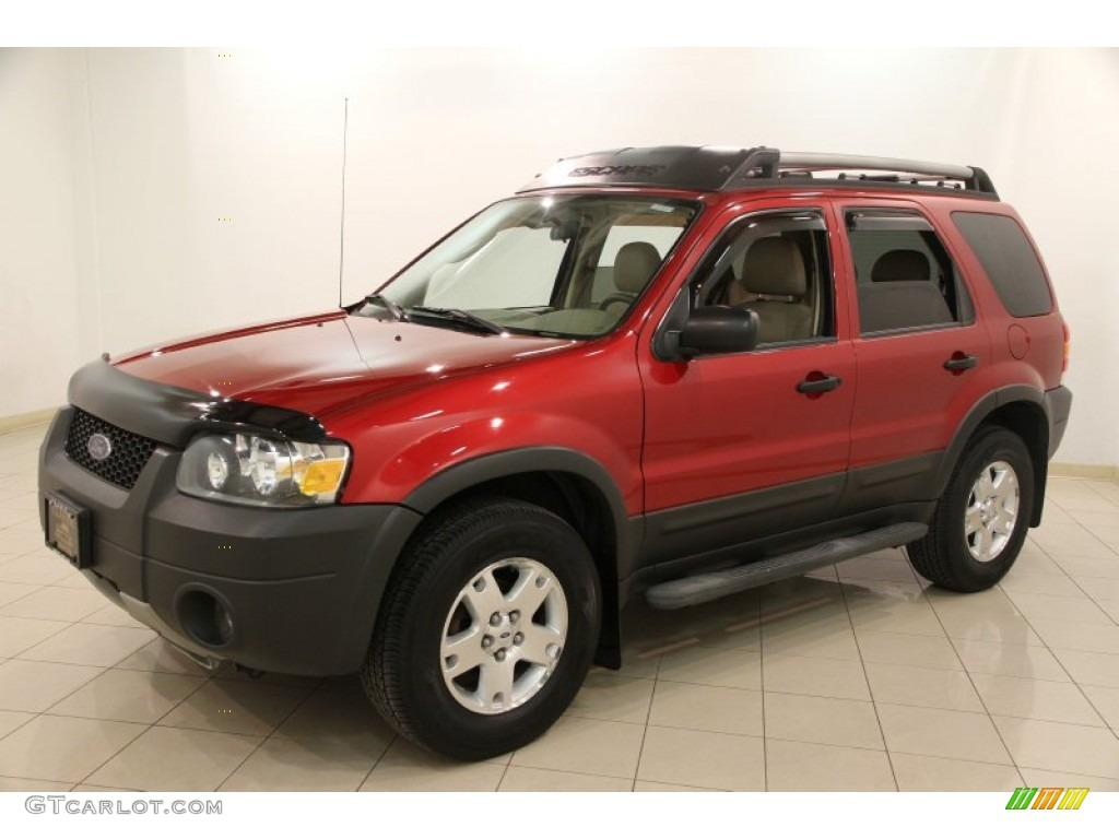 redfire metallic 2006 ford escape xlt v6 exterior photo. Black Bedroom Furniture Sets. Home Design Ideas