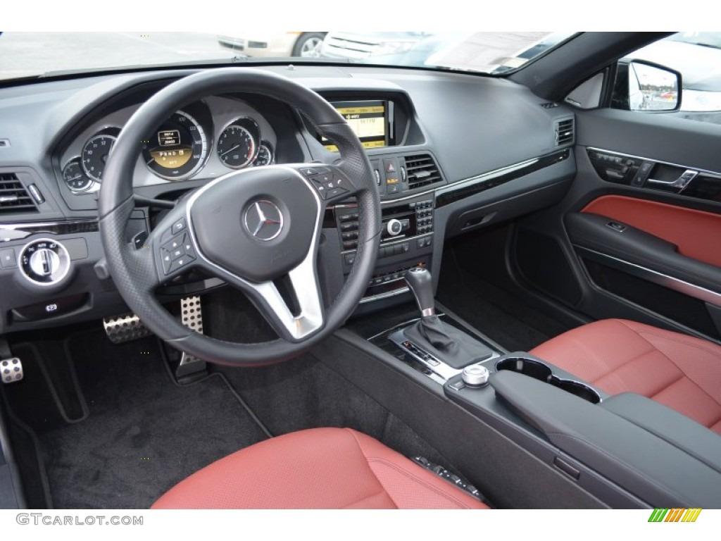 Red Black Interior 2012 Mercedes Benz E 350 Coupe Photo 89701743