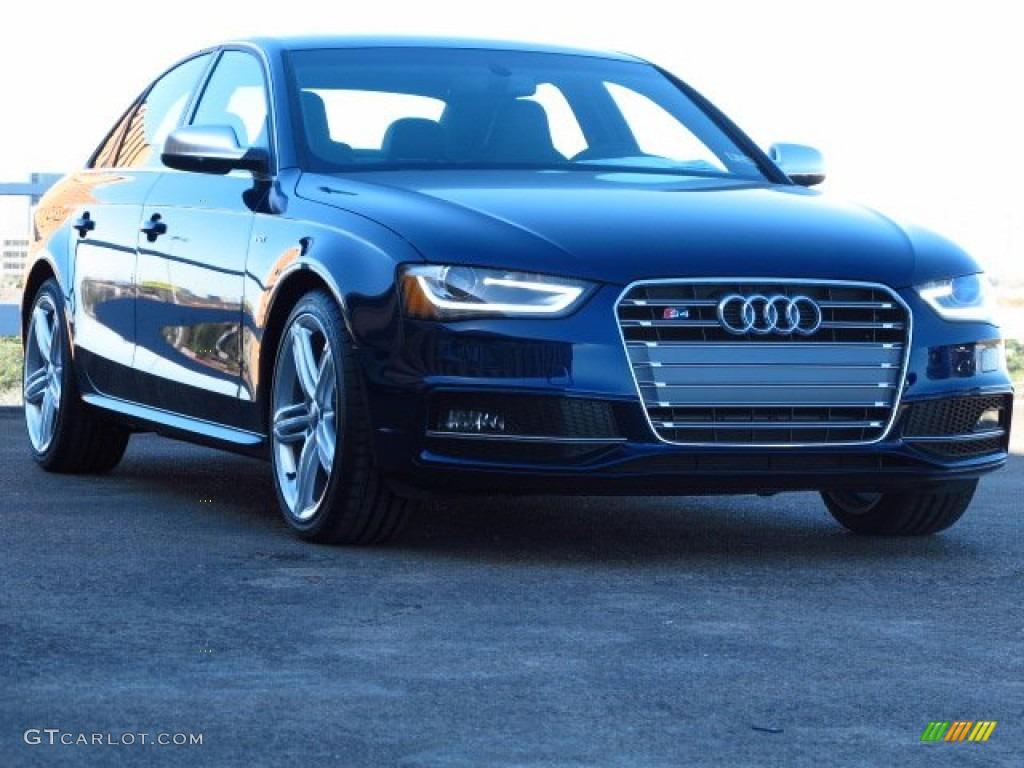 2014 S4 Premium plus 3.0 TFSI quattro - Estoril Blue Crystal / Black photo #1