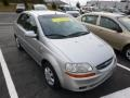 Galaxy Silver Metallic 2005 Chevrolet Aveo LS Sedan