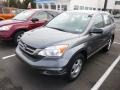 2011 Polished Metal Metallic Honda CR-V LX 4WD  photo #3