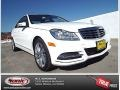 Polar White 2014 Mercedes-Benz C 250 Luxury