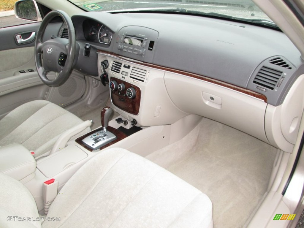 2007 Hyundai Sonata Gls Interior Color Photos