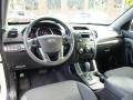 Black 2011 Kia Sorento Interiors
