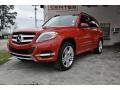 Mars Red 2013 Mercedes-Benz GLK 350