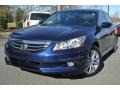 Royal Blue Pearl 2012 Honda Accord EX-L V6 Sedan