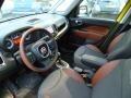 2014 500L Black/Marrone (Black/Brown) Interior