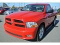 2012 Flame Red Dodge Ram 1500 Express Regular Cab #89762344