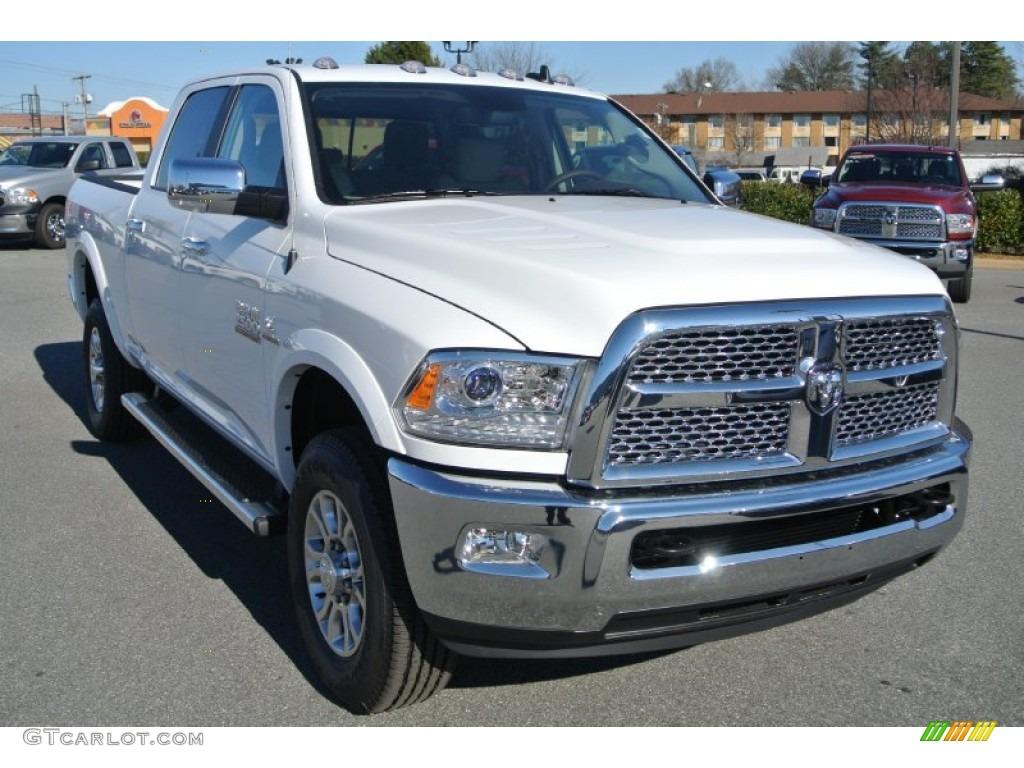bright white 2014 ram 2500 laramie crew cab 4x4 exterior photo 89782154 - Dodge Ram 2500 2014 White