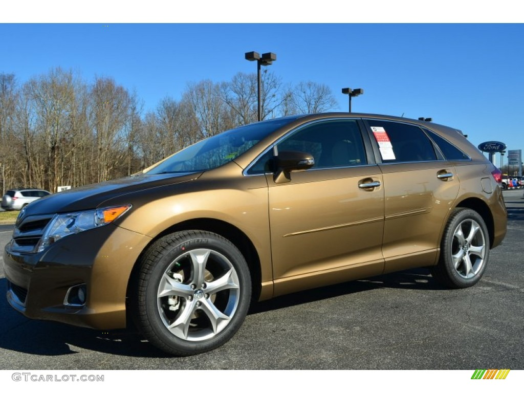 Golden Umber Mica 2014 Toyota Venza Xle Exterior Photo