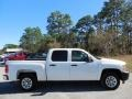 Summit White - Silverado 1500 Work Truck Crew Cab Photo No. 9