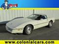 White 1986 Chevrolet Corvette Coupe