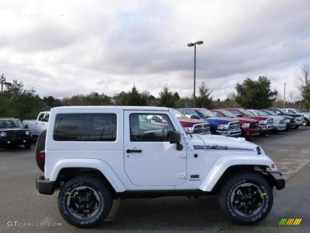Bright White 2014 Jeep Wrangler Polar Edition 4x4 Exterior Photo 89819684 Gtcarlot Com