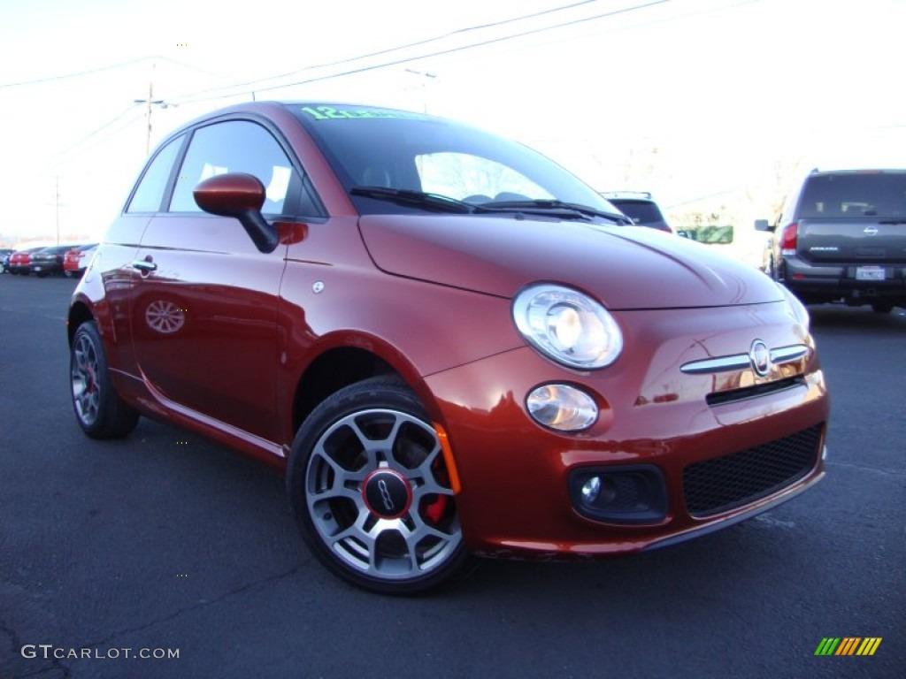 2012 rame copper orange fiat 500 sport 89817316 car color galleries. Black Bedroom Furniture Sets. Home Design Ideas