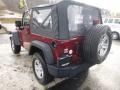 2012 Deep Cherry Red Crystal Pearl Jeep Wrangler Sport 4x4  photo #3