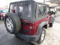 2012 Deep Cherry Red Crystal Pearl Jeep Wrangler Sport 4x4  photo #5