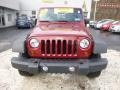 2012 Deep Cherry Red Crystal Pearl Jeep Wrangler Sport 4x4  photo #8