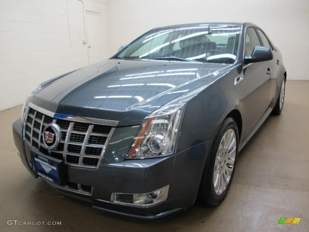 2012 Thunder Gray Chromaflair Cadillac Cts 4 3 6 Awd Sedan