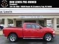 2012 Flame Red Dodge Ram 1500 SLT Quad Cab 4x4 #89817090