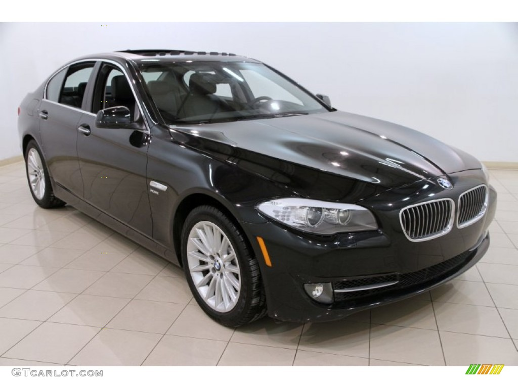 black sapphire metallic 2012 bmw 5 series 535i xdrive sedan exterior photo 89846843. Black Bedroom Furniture Sets. Home Design Ideas