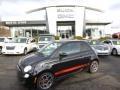 Nero (Black) 2012 Fiat 500 Sport