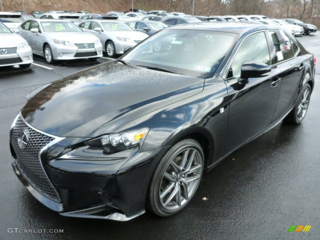 obsidian black 2014 lexus is 250 f sport awd exterior photo 89860375. Black Bedroom Furniture Sets. Home Design Ideas