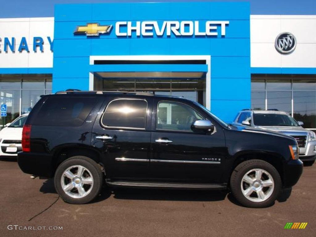 2009 Black Chevrolet Tahoe Ltz 4x4 89858096 Gtcarlot