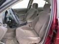 2002 Pontiac Grand Am Dark Taupe Interior Front Seat Photo