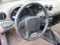 2002 Pontiac Grand Am Dark Taupe Interior Steering Wheel Photo