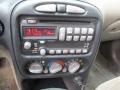 2002 Pontiac Grand Am Dark Taupe Interior Controls Photo
