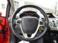 Charcoal Black Steering Wheel Photo for 2013 Ford Fiesta #89892895