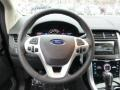 2014 Ford Edge Charcoal Black Interior Steering Wheel Photo
