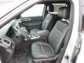 2014 Ford Explorer Charcoal Black Interior Front Seat Photo