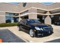 Black 2010 Mercedes-Benz E 350 4Matic Sedan
