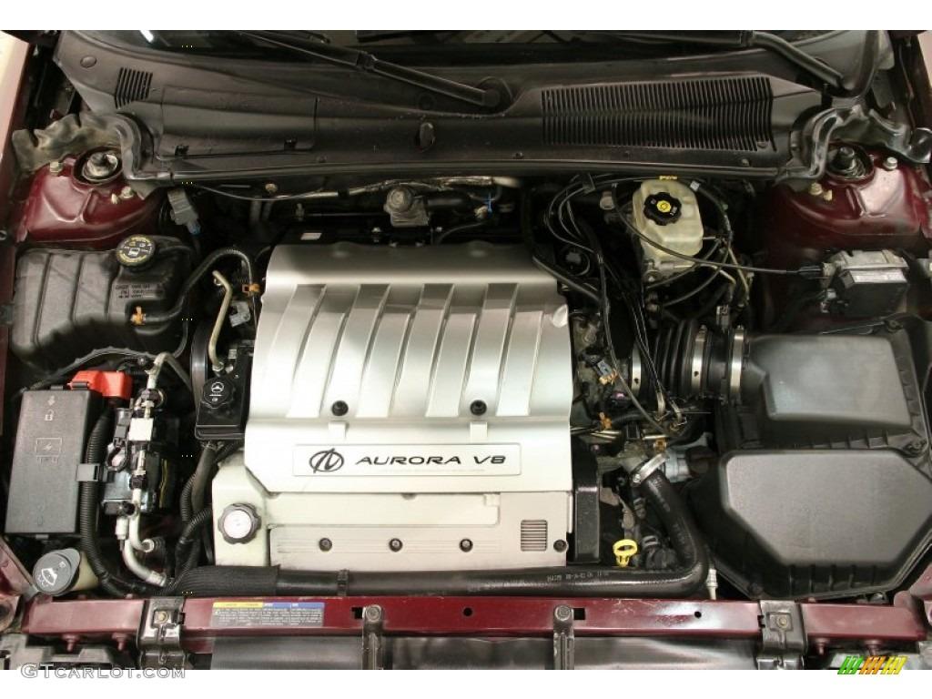 2003 Oldsmobile Aurora 4.0 4.0 Liter DOHC 32-Valve V8 ...