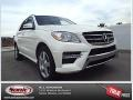 Diamond White Metallic 2014 Mercedes-Benz ML 350
