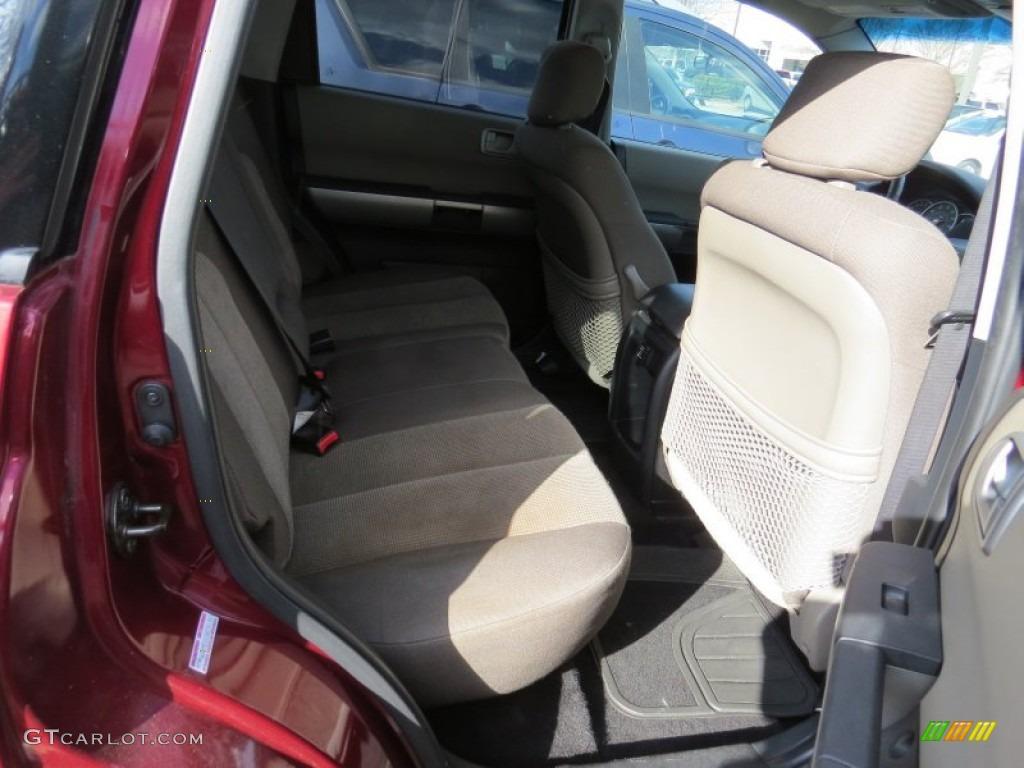2004 Mitsubishi Endeavor Xls Rear Seat Photos