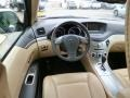 Desert Beige Dashboard Photo for 2011 Subaru Tribeca #89942538