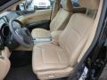 Desert Beige Front Seat Photo for 2011 Subaru Tribeca #89942553