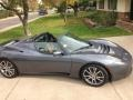 Thunder Grey 2008 Tesla Roadster