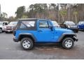 2012 Cosmos Blue Jeep Wrangler Sport 4x4  photo #4