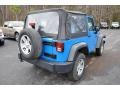 2012 Cosmos Blue Jeep Wrangler Sport 4x4  photo #5
