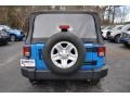2012 Cosmos Blue Jeep Wrangler Sport 4x4  photo #6