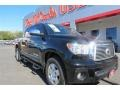 2013 Black Toyota Tundra Limited CrewMax  photo #1