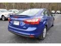 2012 Sonic Blue Metallic Ford Focus SE Sedan  photo #5