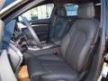 Black 2014 Audi S8 Interiors