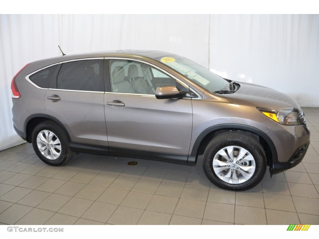 2012 CR-V EX - Urban Titanium Metallic / Gray photo #5